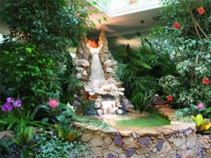 Зимний сад - центр внимания