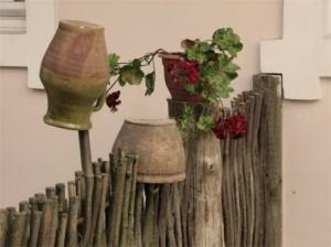 С чего начать ландшафтный дизайн, деревенский стиль