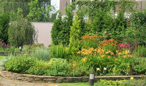 Сад например китайский сад или