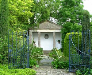 С чего начать ландшафтный дизайн, вход в сад