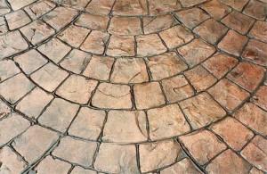 Декоративно-печатный бетон