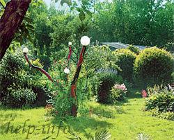 Садовый торшер