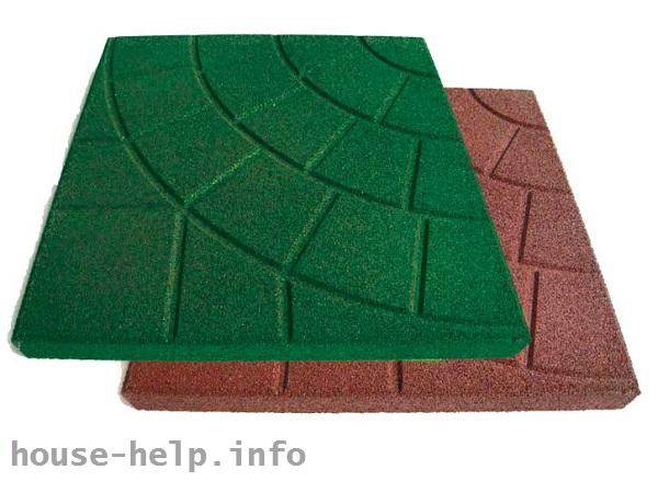 Плитка изготавливается из высококачественного и долговечного материала