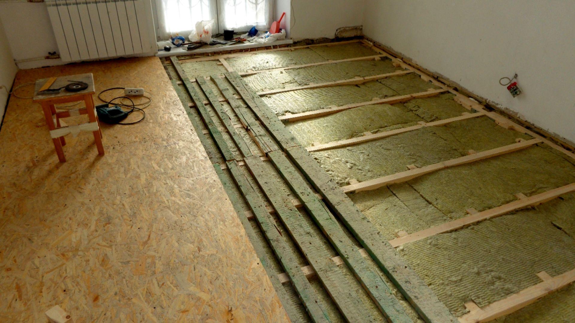 Деревянные полы в квартире сделать