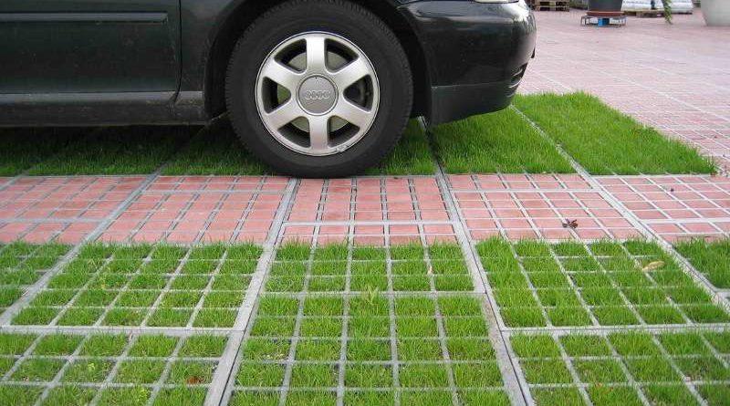 Пластиковые газонные решетки