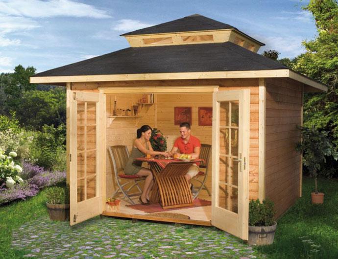 Дешевый домик для дачи своими руками 967