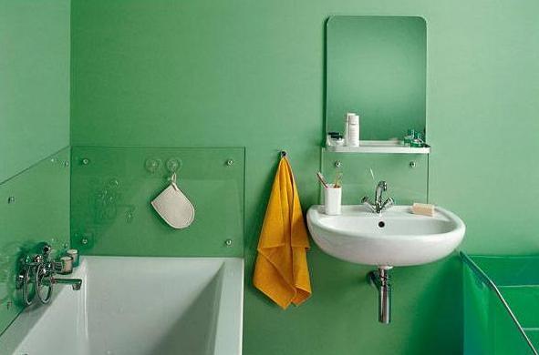 Варианты отделки стен при ремонте в ванной