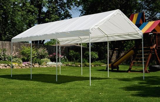 Как смастерить шатер для дачи?