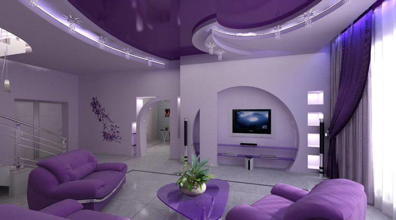 Значение натяжного потолка для современного интерьера