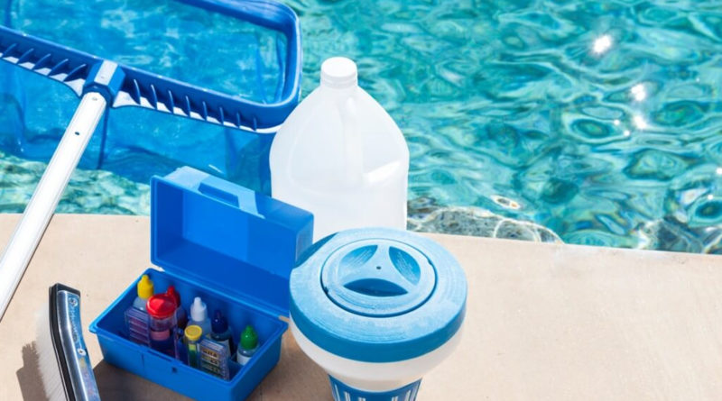 Как подобрать средства по уходу за бассейном