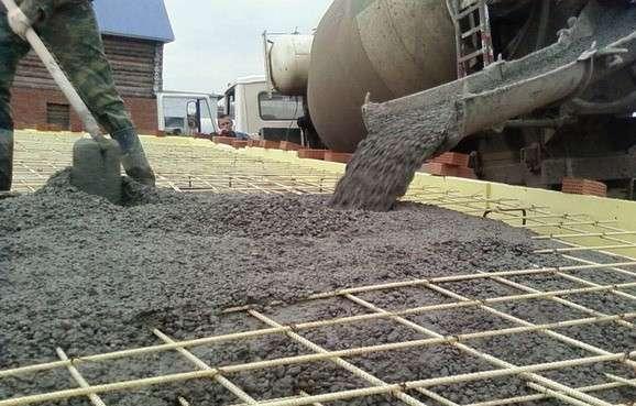 Области применения марок бетона