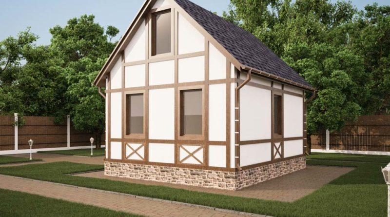 Каркасно-щитовые дома – особенности строительства и отделки