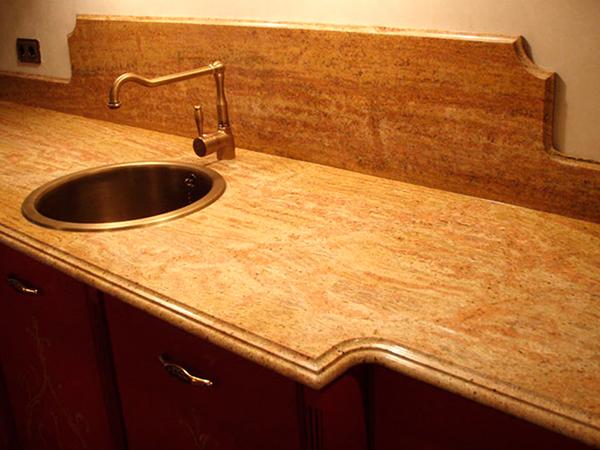 литьевой мрамор столешница для кухни