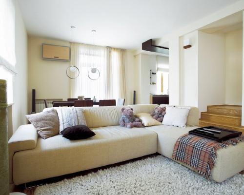 Дизайн гостиной 18 кв.м. Фото в фото