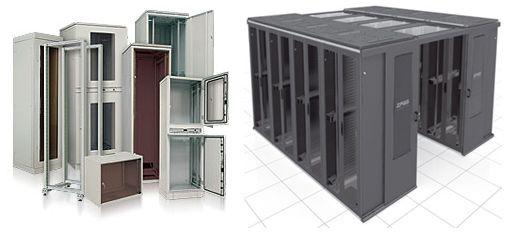 Где сегодня используются серверные шкафы?
