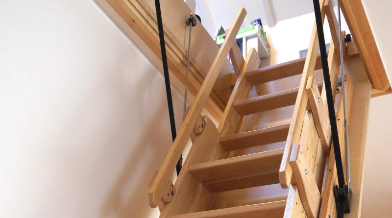 Популярные виды чердачных лестниц