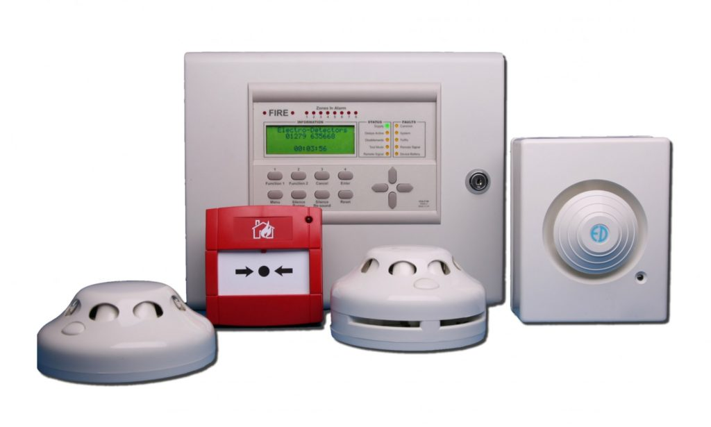 Современная пожарная сигнализация и ее виды
