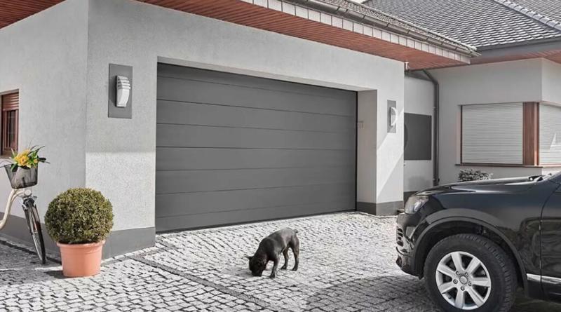 Секционные ворота для дома — комплектация, виды